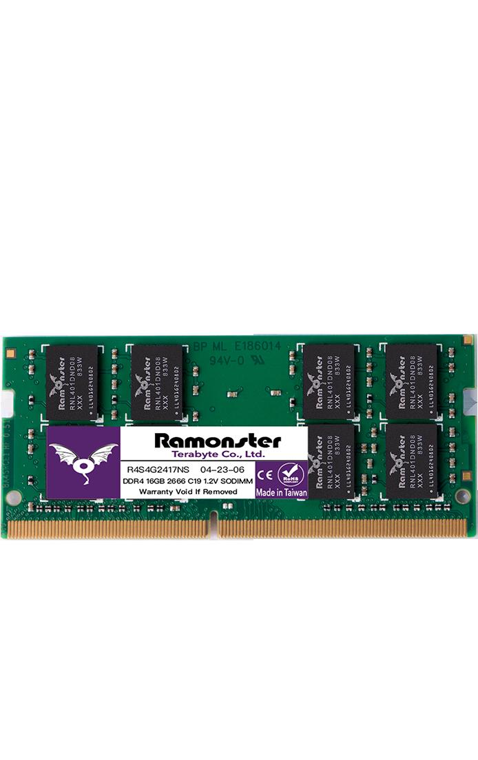 DDR4 筆記型電腦記憶體 - 記憶體/千奕國際/module/Ramonster